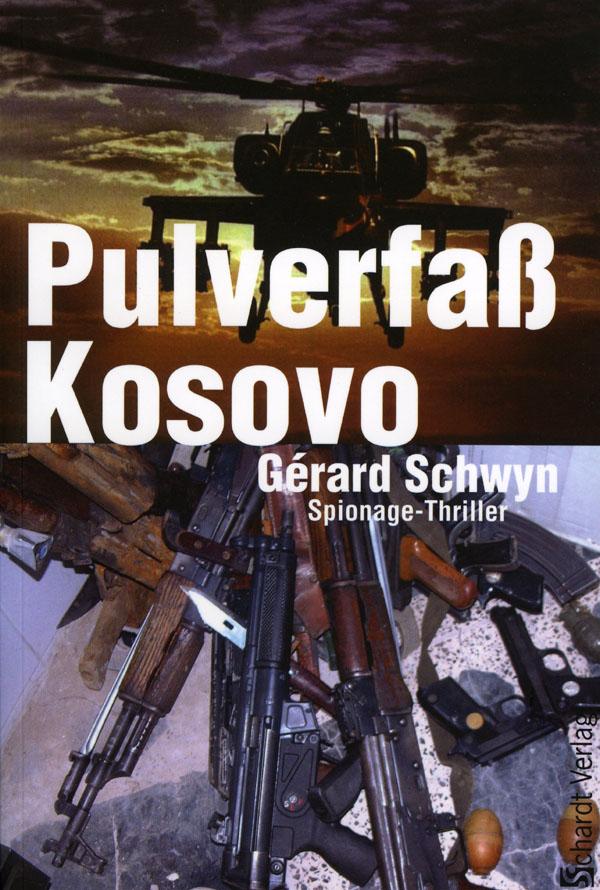 Buchcover Pulverfass Kosovo